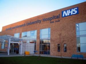 NHS_NNUH_entrance